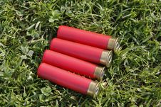 Gun Cartridges Royalty Free Stock Photo