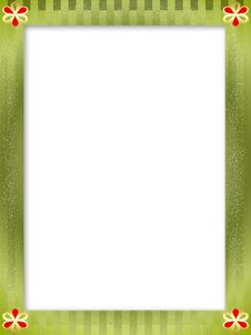 Free Flower Frame Royalty Free Stock Photography - 6218187