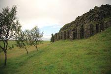 Free Dverghamrar Basalt Columns Stock Photos - 6218333