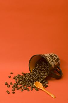 Free Spilled Coffee Stock Photography - 6218462
