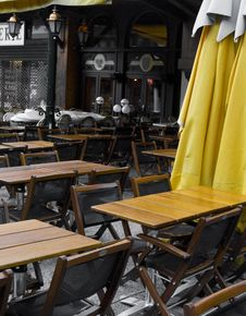 Free Terrace In Chamonix, France Stock Photos - 6218663