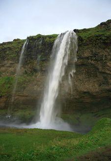 Free Iceland Waterfall Seljalandfoss Royalty Free Stock Photography - 6218697