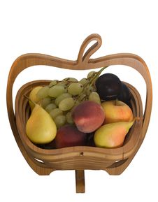 Fruits In The Basket Royalty Free Stock Photo