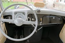 Free Steering Wheel And Dashboard Stock Photo - 6219050
