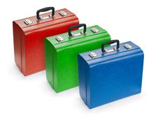 Free Set Of Suitcases Stock Image - 6219231