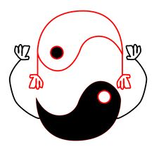 Yin Yang Harmony Royalty Free Stock Photo
