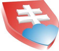 Free Slovakian Coat Of Arms Stock Photography - 6219562
