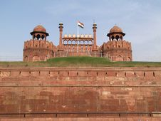 Free Red Fort In Delhi In India Royalty Free Stock Photography - 6219577