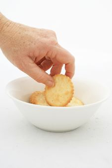Free Isolated Finger Snack Stock Image - 6219841