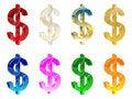 Free 3d Dollar Symbol Stock Photos - 6220123