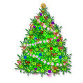 Free Christmas Tree Stock Photography - 6224332