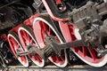 Free Steam Locomotive Wheels Royalty Free Stock Photos - 6225488