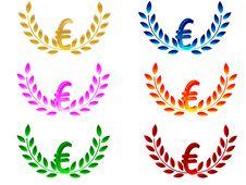 Free 3d Euro Symbol Stock Photography - 6220122