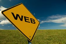 WWW Sign Stock Photography