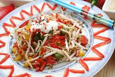 Free Fresh Asian Salad Stock Photography - 6220582