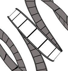 Free Isolated Movie/photo Film Royalty Free Stock Photo - 6220965