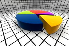 Free 3d Statistics Royalty Free Stock Photography - 6220977