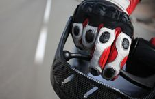 Free Biker Glove Royalty Free Stock Image - 6221306