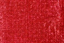 Free Red Fabric Texture Royalty Free Stock Photos - 6221428