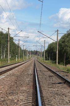 Free Railway Track Stock Image - 6221791