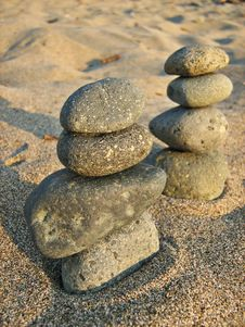 Free Stone Towers Royalty Free Stock Image - 6221806