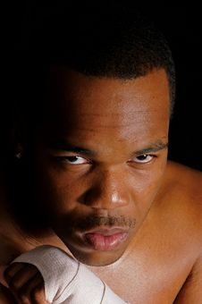 Free African American Boxer Royalty Free Stock Photo - 6221955