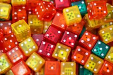 Free Dices Stock Images - 6222704