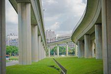 Free MRT Railway Royalty Free Stock Image - 6223486