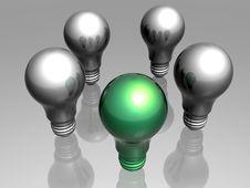 Free Green Idea Royalty Free Stock Photo - 6223865