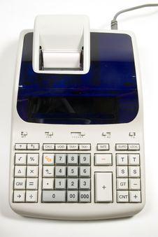 Free Tax Calculator Royalty Free Stock Photo - 6224025