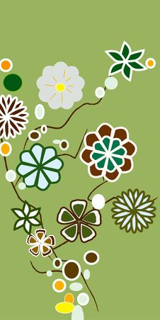 Free Abstract Floral Background Royalty Free Stock Photography - 6224137