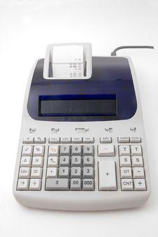 Free Tax Calculator Royalty Free Stock Image - 6224236