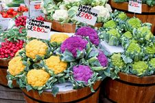 Cauliflower And Romanesque Royalty Free Stock Images