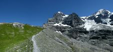 Eiger Panorama In Switzerland