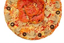 Free Appetizing Pizza Royalty Free Stock Photography - 6225557