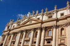Free The Vatican City - Saint Peter S Basilica Stock Photo - 6225590