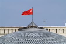 Free Flag On The Roof Royalty Free Stock Image - 6225686