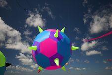 Pricking Ball High-Up Stock Photo