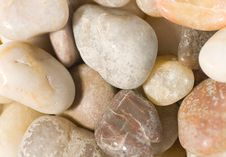 Pile Of Sea Pebbles Royalty Free Stock Photo