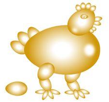 Free Egg Hen Stock Image - 6226831