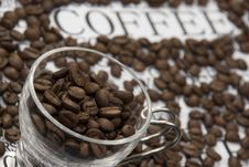 Free Grains In A Cup Of Coffee Stock Photo - 6227120