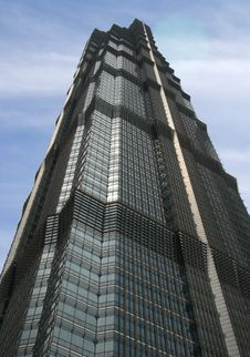 Free Jinmao Tower Stock Photography - 6228312