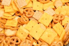 Free Cracker Snack Mix Royalty Free Stock Photos - 6228398