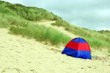 Free Tent On Beach Stock Image - 6228511
