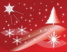 Free Christmas Snow Stars Royalty Free Stock Photos - 6228528