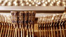 Free Old Typewriter Royalty Free Stock Image - 6228716