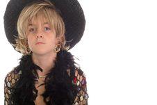 Free Fashion Model Kid On White Royalty Free Stock Images - 6228799