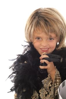 Free Fashion Toddler Diva Stock Image - 6228821