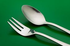Free Fork And Spoon Royalty Free Stock Images - 6229699
