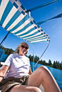 Free Woman Boating Royalty Free Stock Images - 6230569
